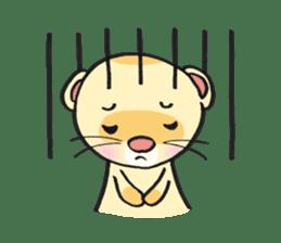Ferret Good luck(English) sticker #2753622