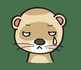 Ferret Good luck(English) sticker #2753623
