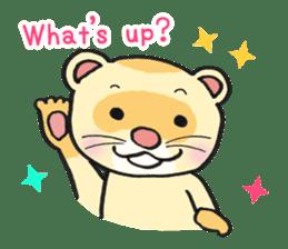 Ferret Good luck(English) sticker #2753624