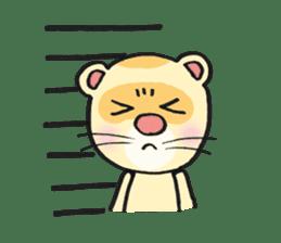 Ferret Good luck(English) sticker #2753626