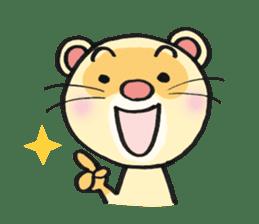 Ferret Good luck(English) sticker #2753628