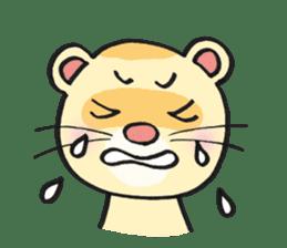Ferret Good luck(English) sticker #2753629