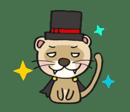 Ferret Good luck(English) sticker #2753630