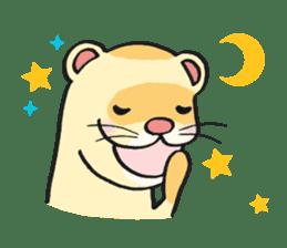 Ferret Good luck(English) sticker #2753634