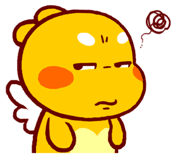 QooBee Agapi sticker #2754644