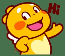 QooBee Agapi sticker #2754659
