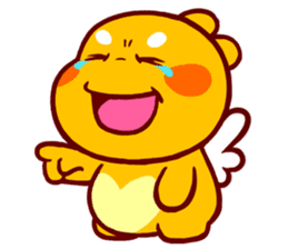 QooBee Agapi sticker #2754663