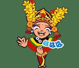 Bali Lily sticker #2754805