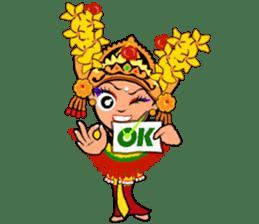 Bali Lily sticker #2754807