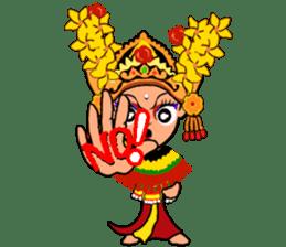 Bali Lily sticker #2754809