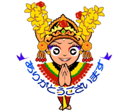 Bali Lily sticker #2754811