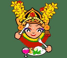 Bali Lily sticker #2754831