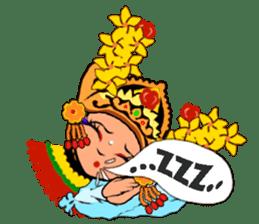 Bali Lily sticker #2754835