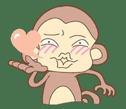 Juking Monkey. sticker #2757989