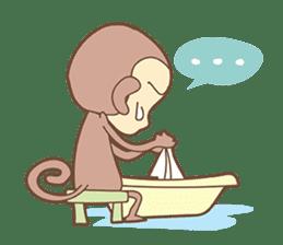 Juking Monkey. sticker #2757997