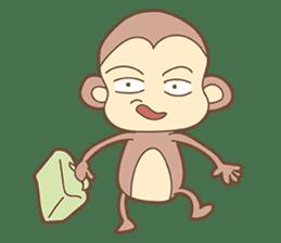 Juking Monkey. sticker #2758009