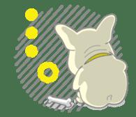 I love French Bulldog sticker #2770395