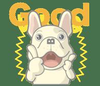 I love French Bulldog sticker #2770396