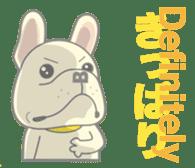 I love French Bulldog sticker #2770401