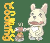 I love French Bulldog sticker #2770403