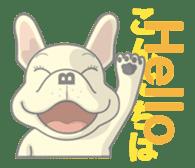 I love French Bulldog sticker #2770406