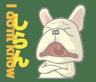 I love French Bulldog sticker #2770407
