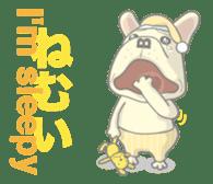 I love French Bulldog sticker #2770413