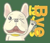 I love French Bulldog sticker #2770414