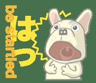 I love French Bulldog sticker #2770415