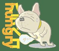 I love French Bulldog sticker #2770417