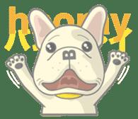 I love French Bulldog sticker #2770418