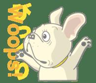 I love French Bulldog sticker #2770419