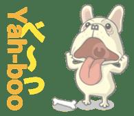 I love French Bulldog sticker #2770421