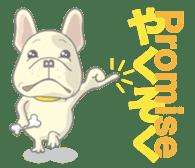 I love French Bulldog sticker #2770425