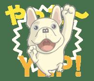 I love French Bulldog sticker #2770426