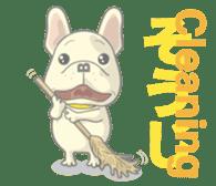 I love French Bulldog sticker #2770428