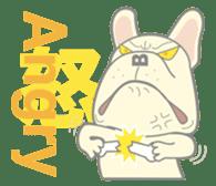 I love French Bulldog sticker #2770434