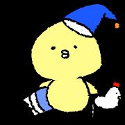 สติ๊กเกอร์ไลน์ Chick's daily conversation sticker