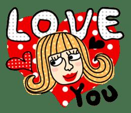 Miss Vivid Polka Dot sticker #2777689
