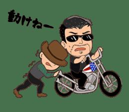American Biker Life sticker #2781644