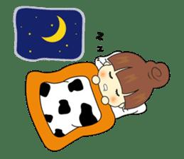 lovely girl's lovely life sticker #2788048
