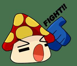 Mushroom life sticker #2789011