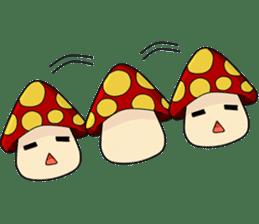 Mushroom life sticker #2789012