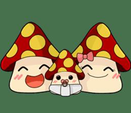 Mushroom life sticker #2789017