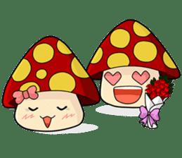 Mushroom life sticker #2789019