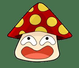 Mushroom life sticker #2789020