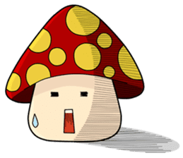Mushroom life sticker #2789022