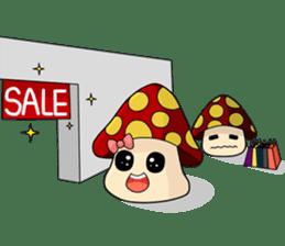 Mushroom life sticker #2789023