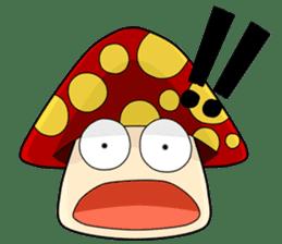 Mushroom life sticker #2789026