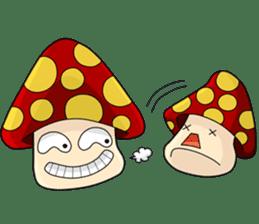 Mushroom life sticker #2789027